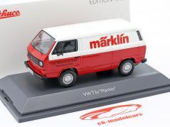 Volkswagen VW T3a ボックスバン Märklin 赤 / 白い 1:43 Schuco