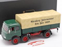 Mercedes-Benz LP 333 Salon du jouet Nuremberg 2010 vert / beige 1:43 Ixo