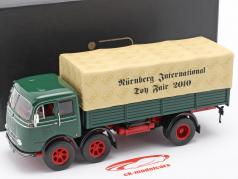 Mercedes-Benz LP 333 Toy fair Nuremberg 2010 green / beige 1:43 Ixo
