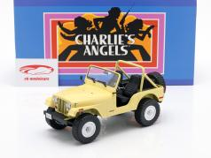 Jeep CJ-5 1980 serie TV Charlie's Angels (1976-1981) giallo 1:18 Greenlight