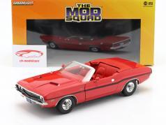 Dodge Challenger R/T 1970 séries de TV The Mod Squad (1968-1973) vermelho 1:18 Greenlight