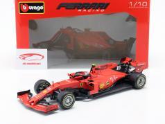 Charles Leclerc Ferrari SF90 #16 Winnaar Italiaans GP formule 1 2019 1:18 Bburago