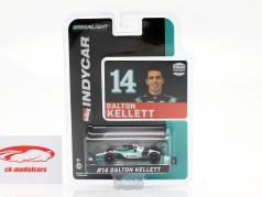 Dalton Kellett Chevrolet #14 Indycar Series 2020 A. J. Foyt Enterprises 1:64 Greenlight