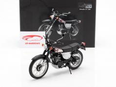 Yamaha XT 500 Année de construction 1988 noir / Gris argent 1:12 Minichamps