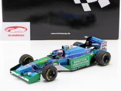 Jos Verstappen Benetton B194 #6 第三名 匈牙利 GP 式 1 1994 1:18 Minichamps