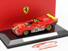 Ferrari 312P #85 勝者 6h Watkins Glen 1972 Ickx, Andretti 1:43 Bburago