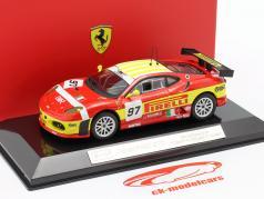 Ferrari F430 GTC#97 24h LeMans 2008 Ruberti、Bubini、Malocelli 1:43 Bburago
