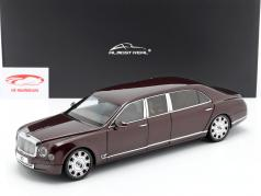 Bentley Mulsanne Grand Limousine by Mulliner 2017 bordeaux 1:18 Almost Real