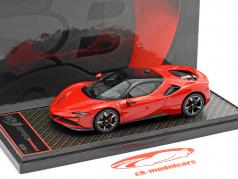 Ferrari SF90 Stradale year 2019 corsa red 1:43 BBR