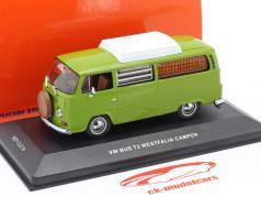 Volkswagen VW Bus T2 Westfalia Camper Année de construction 1970 vert 1:43 Replicars