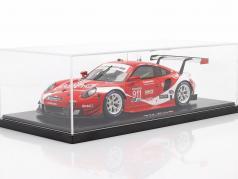 Porsche 911 RSR #911 Coca Cola IMSA campeón 2019 Petit LeMans 1:18 Spark