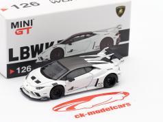 LB-Works Lamborghini Huracan GT LHD Blanco 1:64 TrueScale