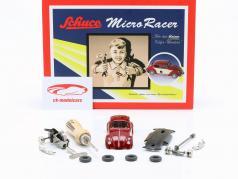 Micro-Racer Volkswagen VW Kever BS rood Kit 1:40 Schuco