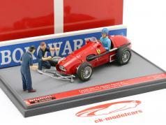 Alberto Ascari Ferrari 500 F2 #1 alemán GP F1 Campeón mundial 1953 1:43 Brumm