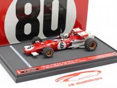 Mario Andretti Ferrari 312B #6 ganador Sur africano GP fórmula 1 1971 1:43 Brumm