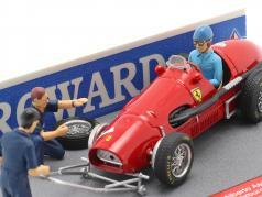 Alberto Ascari Ferrari 500 F2 #1 allemand GP F1 Champion du monde 1953 1:43 Brumm