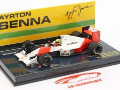 Ayrton Senna McLaren MP4/5B #27 vinder USA GP formel 1 1990 1:43 Minichamps