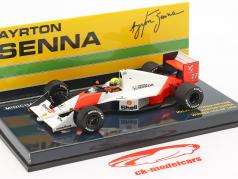 Ayrton Senna McLaren MP4/5B #27 winner USA GP formula 1 1990 1:43 Minichamps