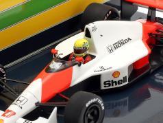 Ayrton Senna McLaren MP4/5B #27 winner USA GP formula 1 1990 1:43 Minichamps