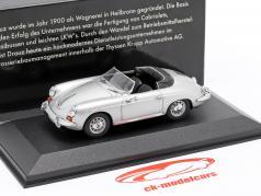 Porsche 356 Convertible D 1958-61 100 Jahre Krupp Drauz 1:43 Minichamps