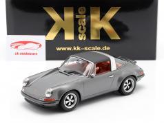 Porsche 911 Targa Singer Design antraciet 1:18 KK-Scale