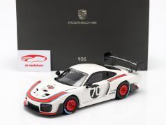 Porsche 935/19 #70 establecido en 911 (991 II) GT2 RS 1:18 Minichamps