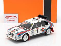 Lancia Delta S4 #3 Rallye Monte Carlo 1986 Alen, Kivimäki 1:18 Ixo