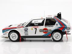 Lancia Delta S4 #7 vinder Rallye Monte Carlo 1986 Toivonen, Cresto 1:18 Ixo