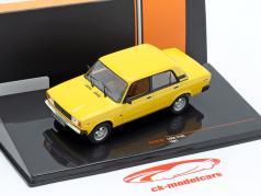 Lada 2105 Bouwjaar 1981 geel 1:43 Ixo