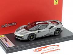 Ferrari SF90 Stradale Assetto Fiorano Byggeår 2019 Grå metallisk 1:43 LookSmart
