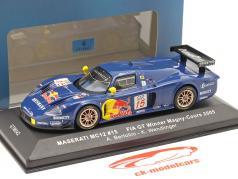 Maserati MC12 #15 FIA GT Vencedora Magny-Cours 2005 Bertolini, Wendlinger 1:43 Ixo