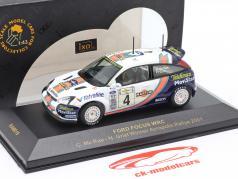 Ford Focus WRC #4 Winner Acropolis Rally 2001 Mc Rae, Grist 1:43 Ixo
