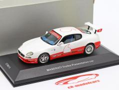 Maserati Coupe Trofeo Presentation car year 2003 white 1:43 Ixo