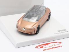 Renault Symbioz Concept Car IAA Frankfurt 2017 roos goud metalen 1:43 Norev