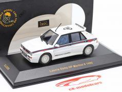 Lancia Delta HF Martini 6 Ano de construção 1992 Branco 1:43 Ixo