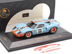 Ford GT 40 #9 Vencedora Le Mans 1968 Rodriguez, Bianchi 1:43 Ixo