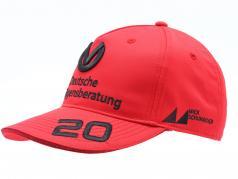 Mick Schumacher Cap #20 formula 2 2020 rosso