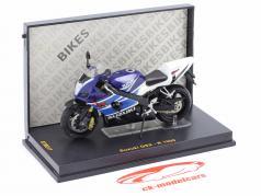 Suzuki GSX-R 1000 azul / Branco 1:24 Ixo