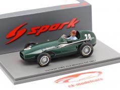 Tony Brooks Vanwall VW57 #20 2ª Mônaco GP Fórmula 1 1957 1:43 Spark