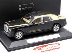 Rolls-Royce Phantom Year of The Snake - Nürnberg ToyFair 2013 negro 1:43 Ixo