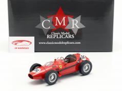 Luigi Musso Ferrari Dino 246 #34 第二名 摩纳哥 GP 式 1 1958 1:18 CMR