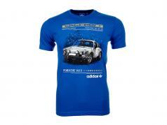 Porsche Maglietta Porsche 911 S Il Tripletta Adidas blu