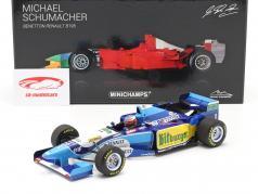 Michael Schumacher Benetton B195 #1 Formel 1 Weltmeister 1995 1:18 Minichamps