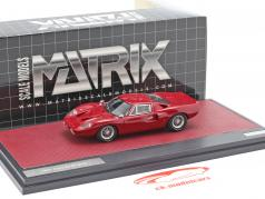 Ford GT40 MK III year 1967 dark red 1:43 Matrix