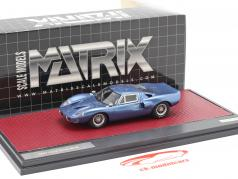 Ford GT40 MK III year 1967 blue metallic 1:43 Matrix