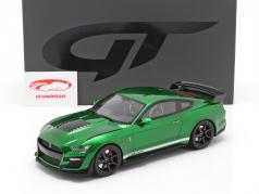 Ford Shelby GT500 år 2020 grøn 1:18 GT-Spirit
