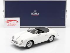 Porsche 356 Speedster 建设年份 1954 白色 1:18 Norev