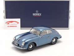 Porsche 356 Coupe Bouwjaar 1952 blauw metalen 1:18 Norev