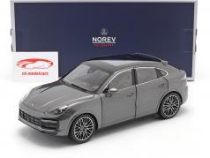 Porsche Cayenne Coupé Turbo Baujahr 2019 achatgrau metallic 1:18 Norev