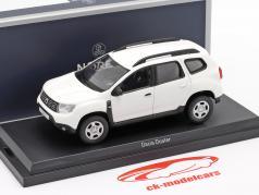 Dacia Duster 建设年份 2018 白色 1:43 Norev